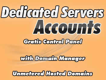 Inexpensive dedicated servers package